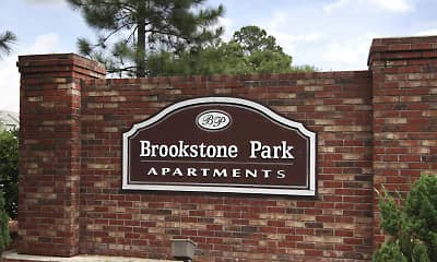 Community Signage, Brookstone Park, 2