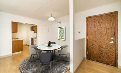 Dining Room, Park Plaza Apartments, 1