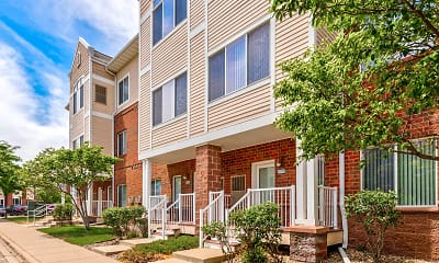 Building, Hearthstone Apartments And Townhomes, 1