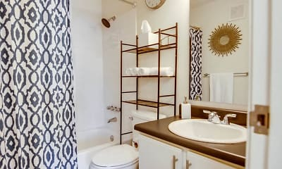 Bathroom, Nori Apartments, 2