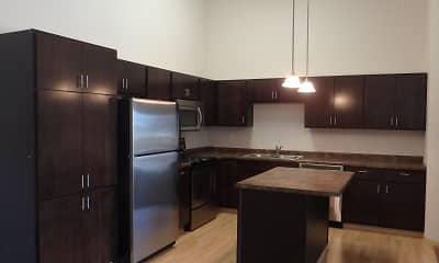 Kitchen, The Cascades Apartments, 0