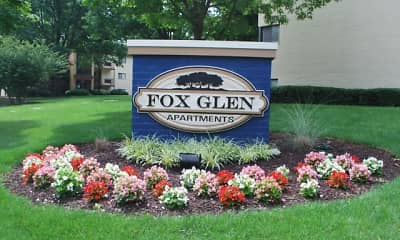Community Signage, Fox Glen, 0