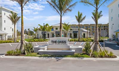 Community Signage, The Oasis at Surfside, 1
