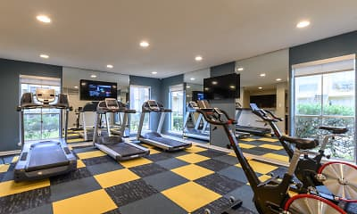 Fitness Weight Room, Heights 2121, 1