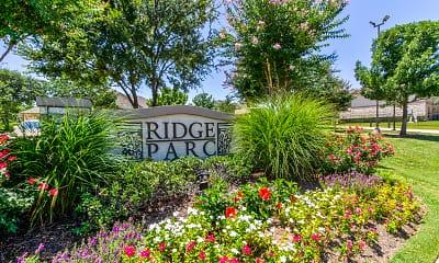 Community Signage, Ridge Parc, 2