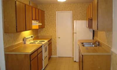 Kitchen, Montlimar Apartments, 2