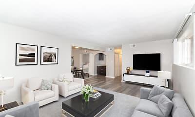 Living Room, Warren Harbor, 0