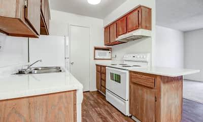 Kitchen, Sunset Terrace, 1