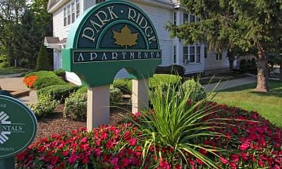 Community Signage, Park Ridge Apartments, 2