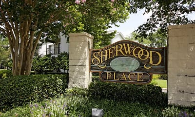 Community Signage, Sherwood Place Apartments, 0