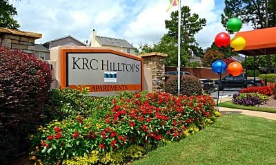 Community Signage, KRC Hilltops, 2