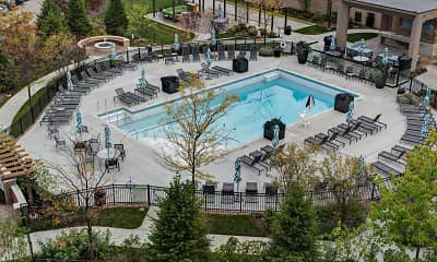 Pool, Sherri Park Apartments, 1