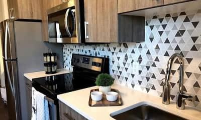 Kitchen, ArLo Apartments, 1