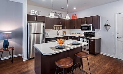 Kitchen, The Kane Apartment Homes, 1