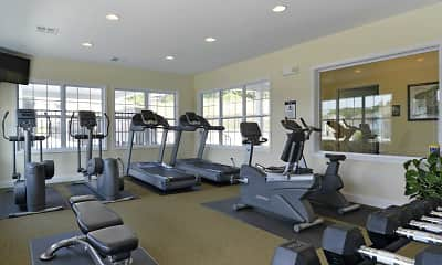 Fitness Weight Room, The Reserve at Rivers Edge, 2