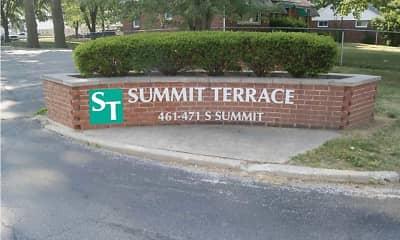 Community Signage, Summit Terrace, 1