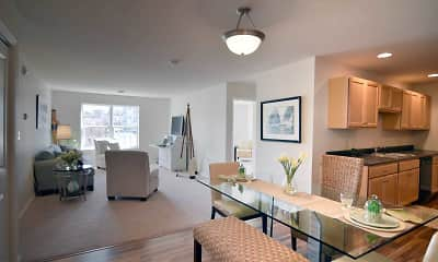 Dining Room, Summit Apartments, 0