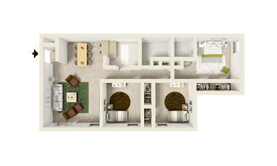 Acadia Park Apartments, 2