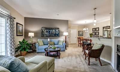 Living Room, Chestnut Pointe, 1
