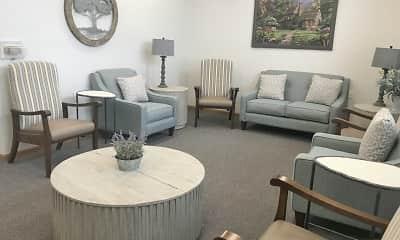 Living Room, Wyndam Place Senior Residence, 0