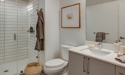 Bathroom, 1717 Webster, 2