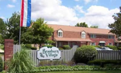 Community Signage, Braeburn Village Apartments Of Indianapolis, 0