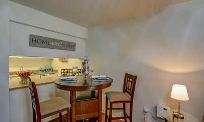 Dining Room, Indigo Park, 1
