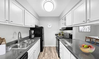 Kitchen, Lakeview Heights, 0