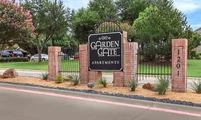 Community Signage, Garden Gate Apartments, 2