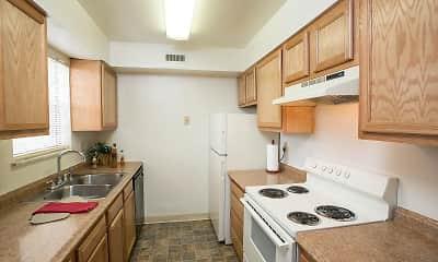 Kitchen, Olde Towne Apartments, 0