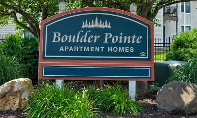 Community Signage, Boulder Pointe, 2