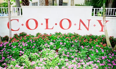 Community Signage, Colony at Dadeland, 0