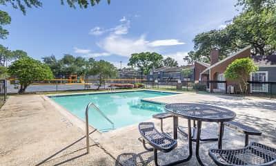 Pool, Wesley Gardens, 1