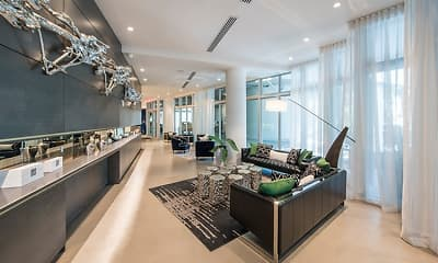Living Room, The Mile at Coral Gables, 1