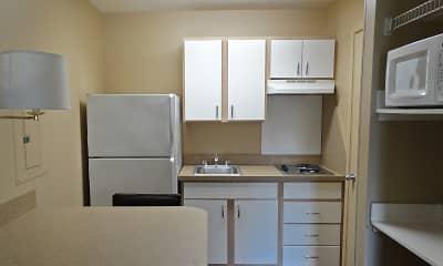 Kitchen, Furnished Studio - Houston - Willowbrook, 1