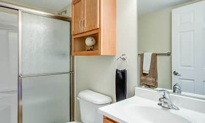 Bathroom, Cabana Club Apartments, 2