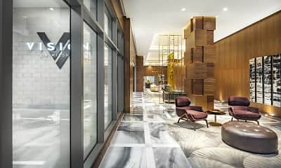 view of building lobby, Vision on Wilshire, 2