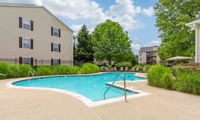 Pool, Saybrooke Apartments, 1