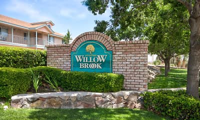 Community Signage, Willow Brook Apartment Homes, 2