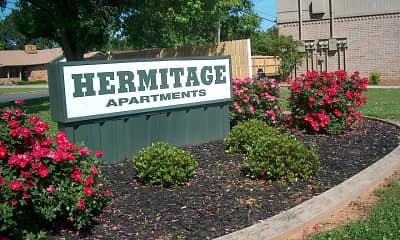 Community Signage, Hermitage Apartments, 0
