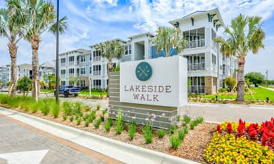 Community Signage, Lakeside Walk Apartments, 2