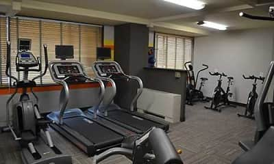 Fitness Weight Room, The Pennsylvania House, 2