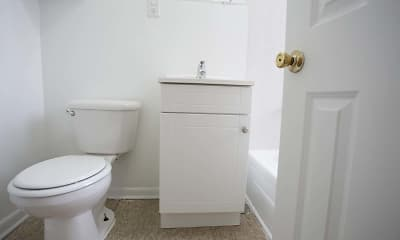 Bathroom, 4721-29 S. Ellis Street, 2
