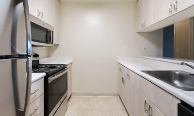 Kitchen, Woodside, 2