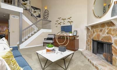 Living Room, The Columns at Lake Ridge, 0