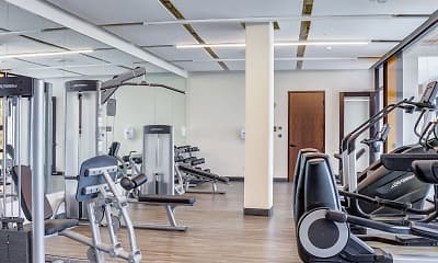 Fitness Weight Room, Central Park West, 2