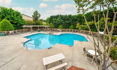 Pool, Cardinal Apartments, 1