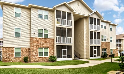Building, Crosswinds Apartments, 1