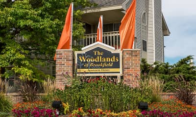 Community Signage, The Woodlands Of Brookfield, 2