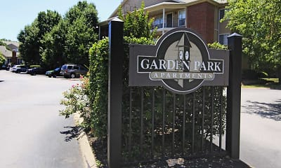 Community Signage, Garden Park Apartments, 1
